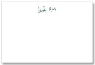 Stationary signature