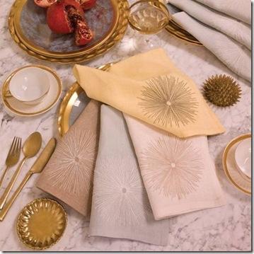 kw for sferra thistle napkins