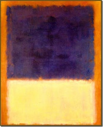 rothko red orange tan and purple 1954
