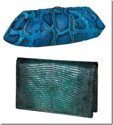 blue clutches