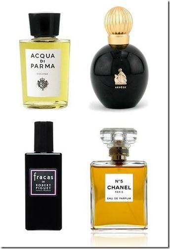 classic perfumes