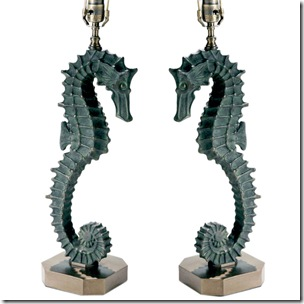 seahorse lamps_1stdibs
