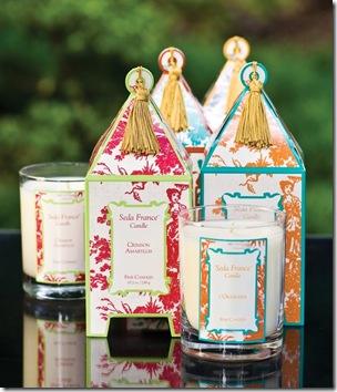 sedafrance pagoda candle